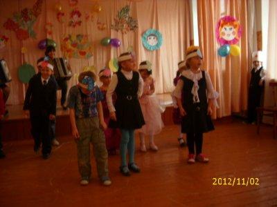 Наше первое выступление на Празднике Осени